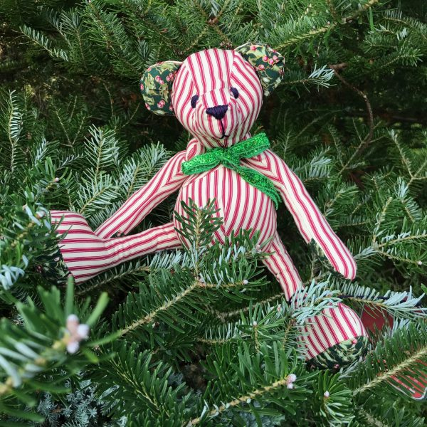 Christmas fabric Teddy