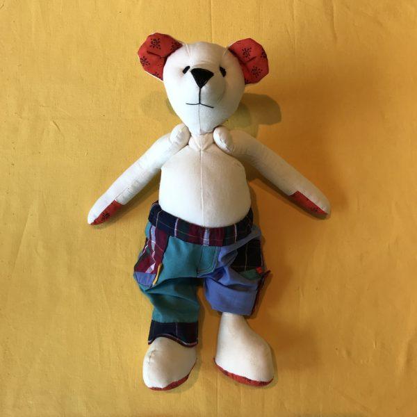 Teddy in ArtyPants