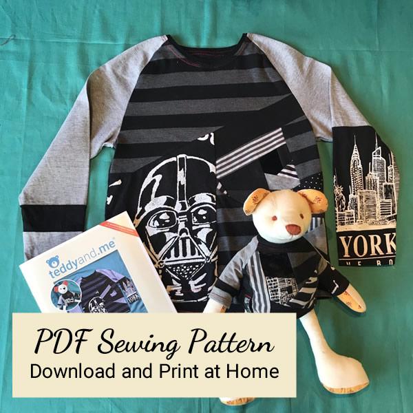 VortexTshirt - PDF Sewing Pattern