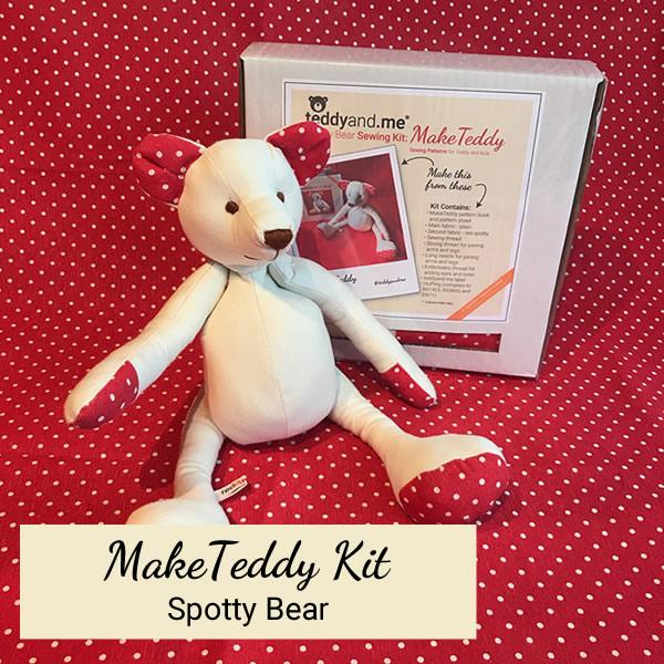 Spotty Make Teddy Kit