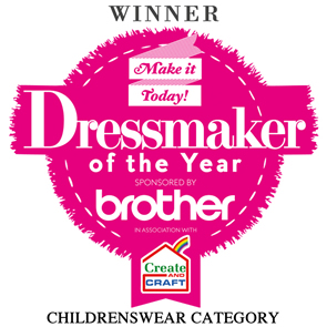 Winner - Dressmaker of the Year - Childrenswear Category