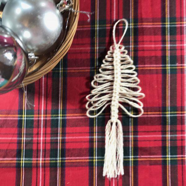 Christmas Macrame - Christmas Tree