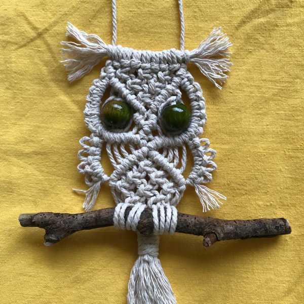 Macrame Owl Workshop 2