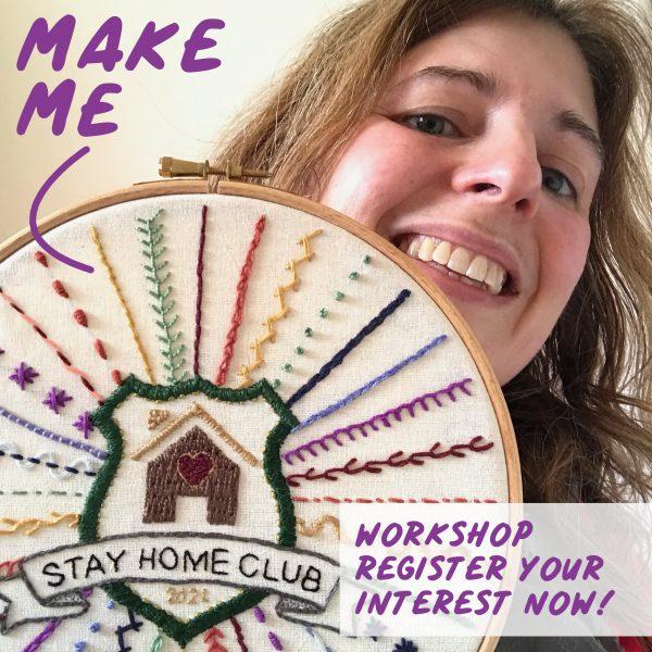 Embroidery Workshop - Register Interest